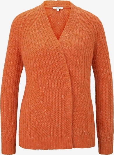 TOM TAILOR Strickjacke in orange, Produktansicht