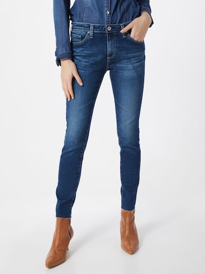 AG Jeans Jeans in blue denim, Modelansicht