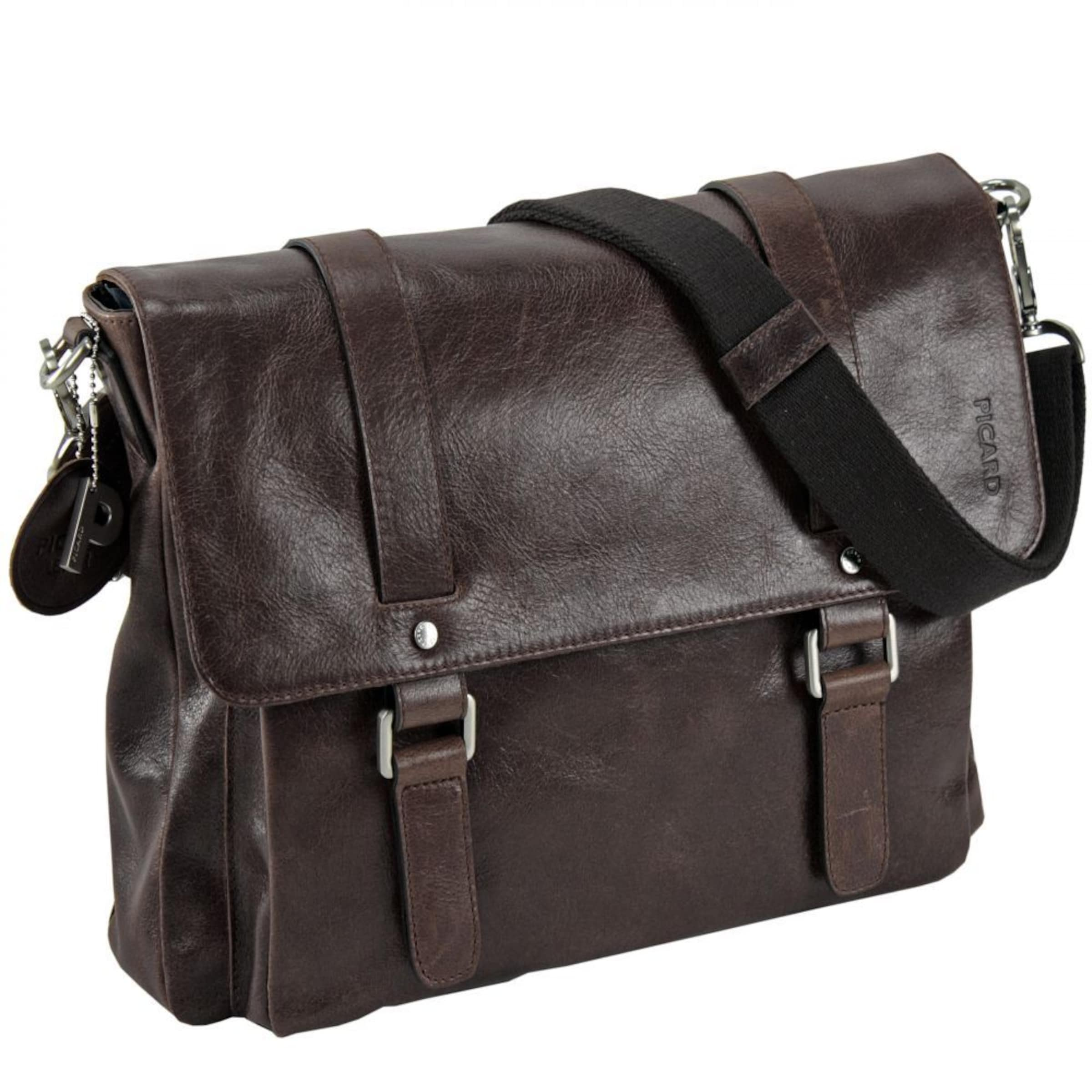 Buddy In 37 tasche Braun Business Leder Picard Cm QrtshCxd