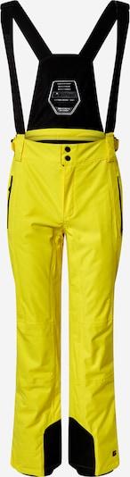 KILLTEC Sportbroek 'Enosh' in de kleur Geel / Zwart, Productweergave