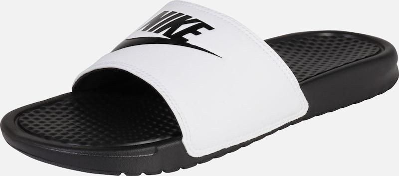 'benassi Sportswear En NoirBlanc Mule Nike Do It' Just g6Y7vmbfIy