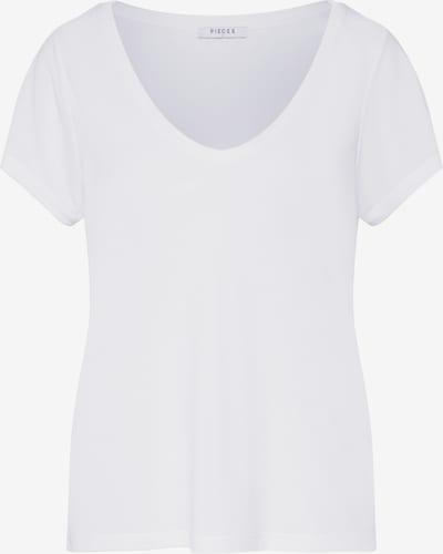 PIECES Shirt 'Noos' in weiß, Produktansicht