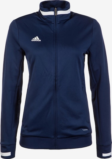ADIDAS PERFORMANCE Trainingsjacke 'Team 19' in dunkelblau / weiß, Produktansicht