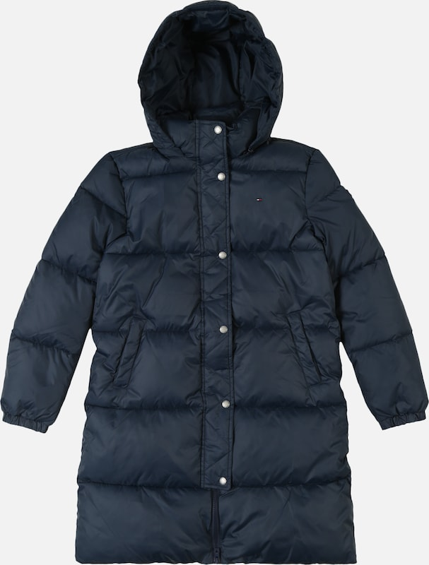 TOMMY HILFIGER Mantel 'RECYCLED EXTRA LONG PUFFER' in dunkelblau, Produktansicht