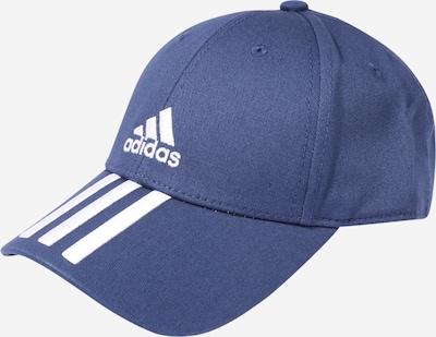 ADIDAS PERFORMANCE Sportpet in de kleur Blauw / Wit, Productweergave