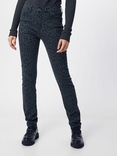 Mavi Jean en noir: Vue de face