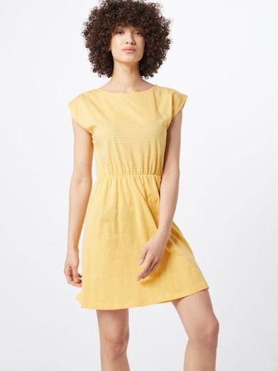 Forvert Kleid 'Hannah' in gelb / weiß, Modelansicht