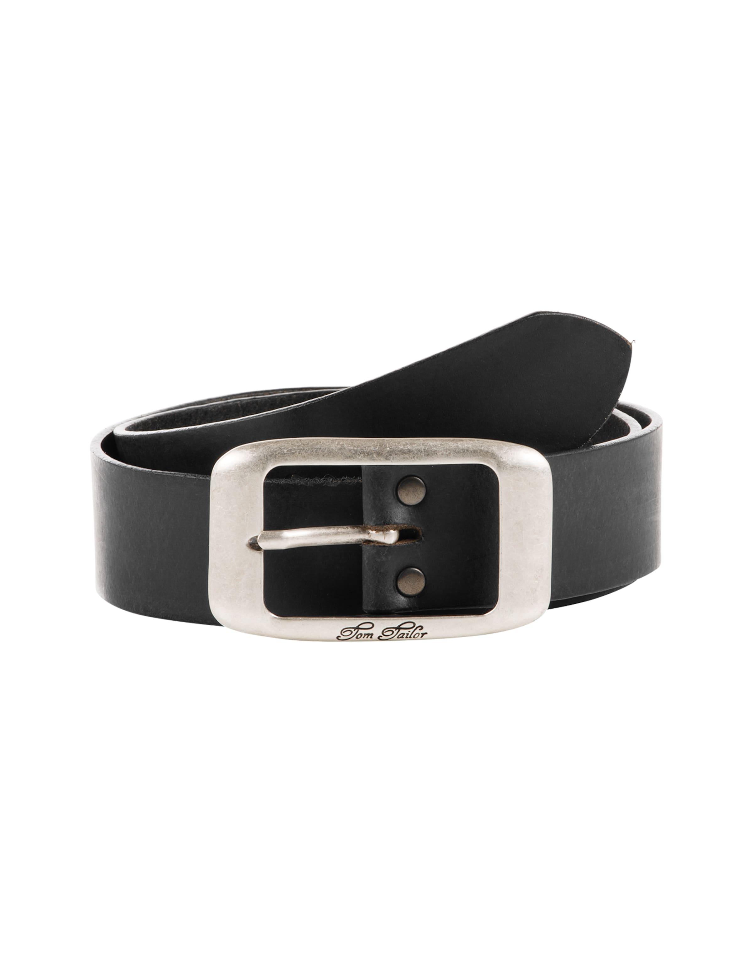 TOM TAILOR Ledergürtel 'used cow leather belt' Spielraum 2018 Neueste rP6ez88