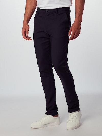 BLEND Hlače | črna barva, Prikaz modela