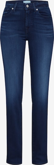 7 for all mankind Jean 'THE STRAIGHT' en bleu denim, Vue avec produit