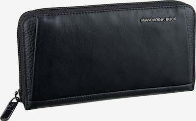 MANDARINA DUCK Kellnerbörse ' Athena Zip Around Wallet UPP61 ' in schwarz: Frontalansicht