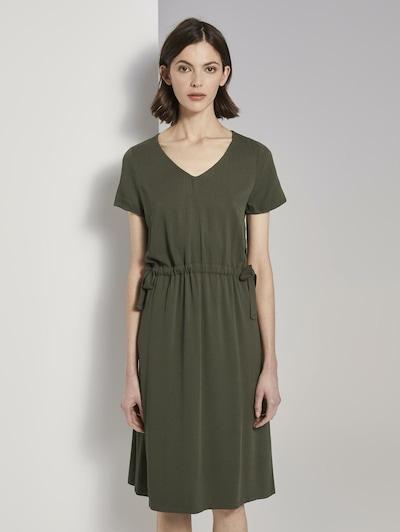 TOM TAILOR Kleid in oliv, Modelansicht