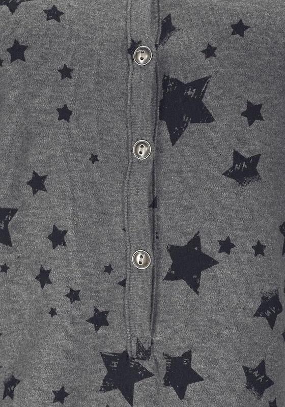 BENCH Jumpsuit mit Allover-Sternenprint