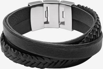 Bracelet FOSSIL en noir