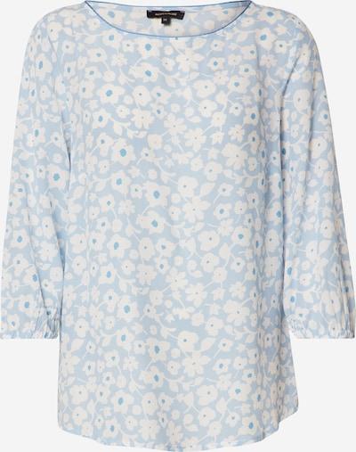 MORE & MORE Bluse in hellblau / weiß, Produktansicht