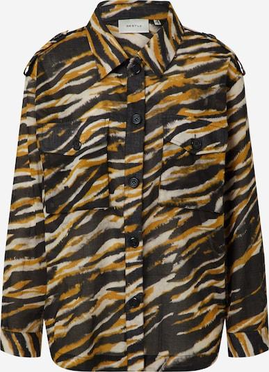 Gestuz Bluse 'CrisantaGZ shirt' in khaki / schwarz, Produktansicht