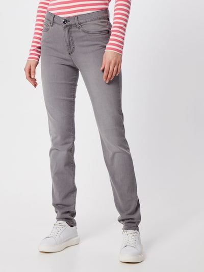 BRAX Jeans 'SHAKIRA' in grey denim, Modelansicht