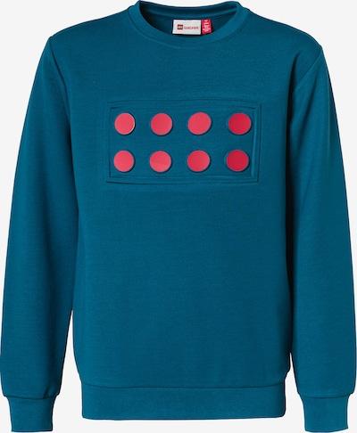LEGO WEAR Sweatshirt in blau / dunkelpink, Produktansicht