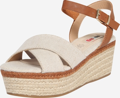 MTNG Sandales 'NEW SOCOTRA' en beige / sable / marron, Vue avec produit