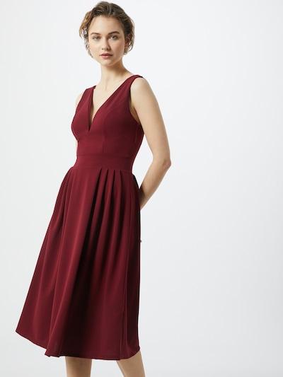WAL G. Kleid in weinrot, Modelansicht