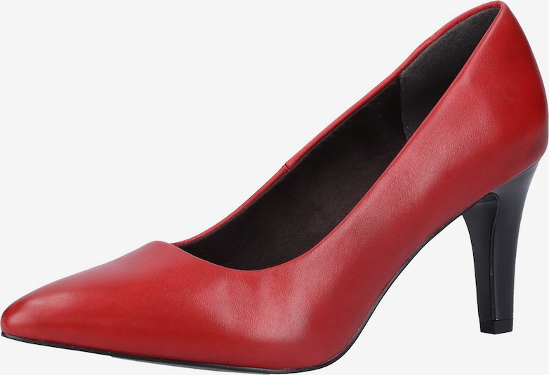 s.Oliver BLACK LABEL Pumps in rot: Frontalansicht
