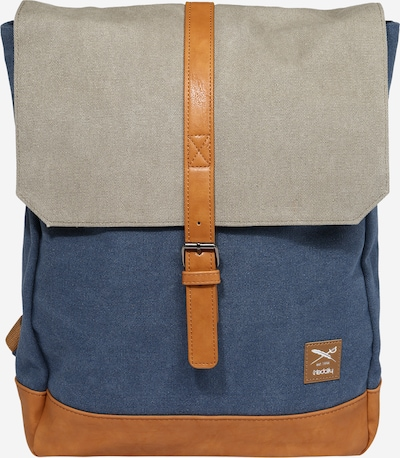 Iriedaily Rucksack in blau / grau, Produktansicht