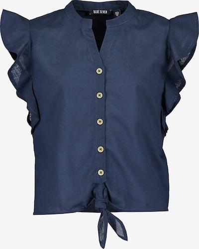 BLUE SEVEN Kurzarmbluse in blau, Produktansicht