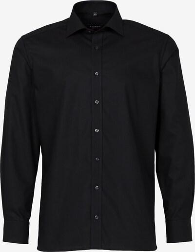 ETERNA Zakelijk overhemd 'MODERN FIT' in de kleur Zwart, Productweergave