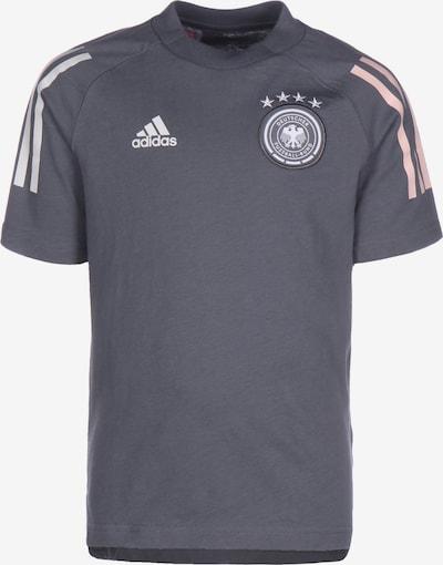 ADIDAS PERFORMANCE Shirt 'DFB EM 2020' in basaltgrau / rosa / weiß, Produktansicht