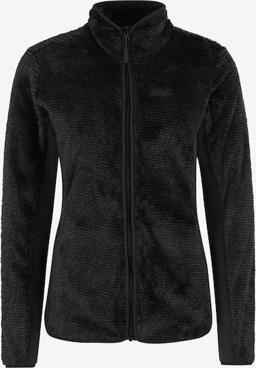 JACK WOLFSKIN Tehnička flis jakna 'PINE LEAF' u crna, Pregled proizvoda