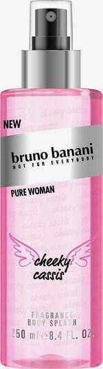 BRUNO BANANI Körperspray 'Pure Body Splash' in pink / schwarz, Produktansicht