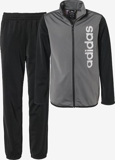 ADIDAS PERFORMANCE Trainingsanzug in grau / schwarz, Produktansicht