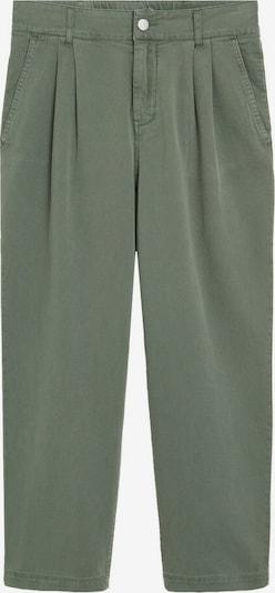 MANGO Hose in grün, Produktansicht