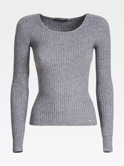 GUESS Pullover in grau, Produktansicht