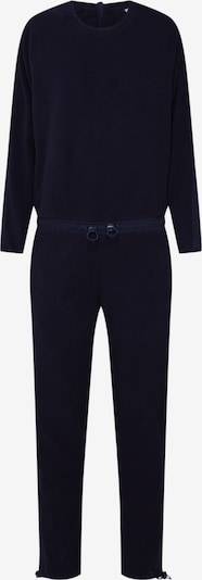 Urban Classics Overall 'Ladies Polar Fleece Jumpsuit' in schwarz, Produktansicht