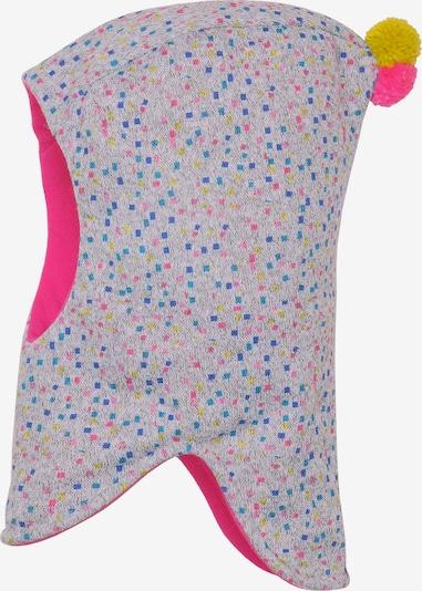 MAXIMO Mütze in blau / gelb / grau / pink, Produktansicht
