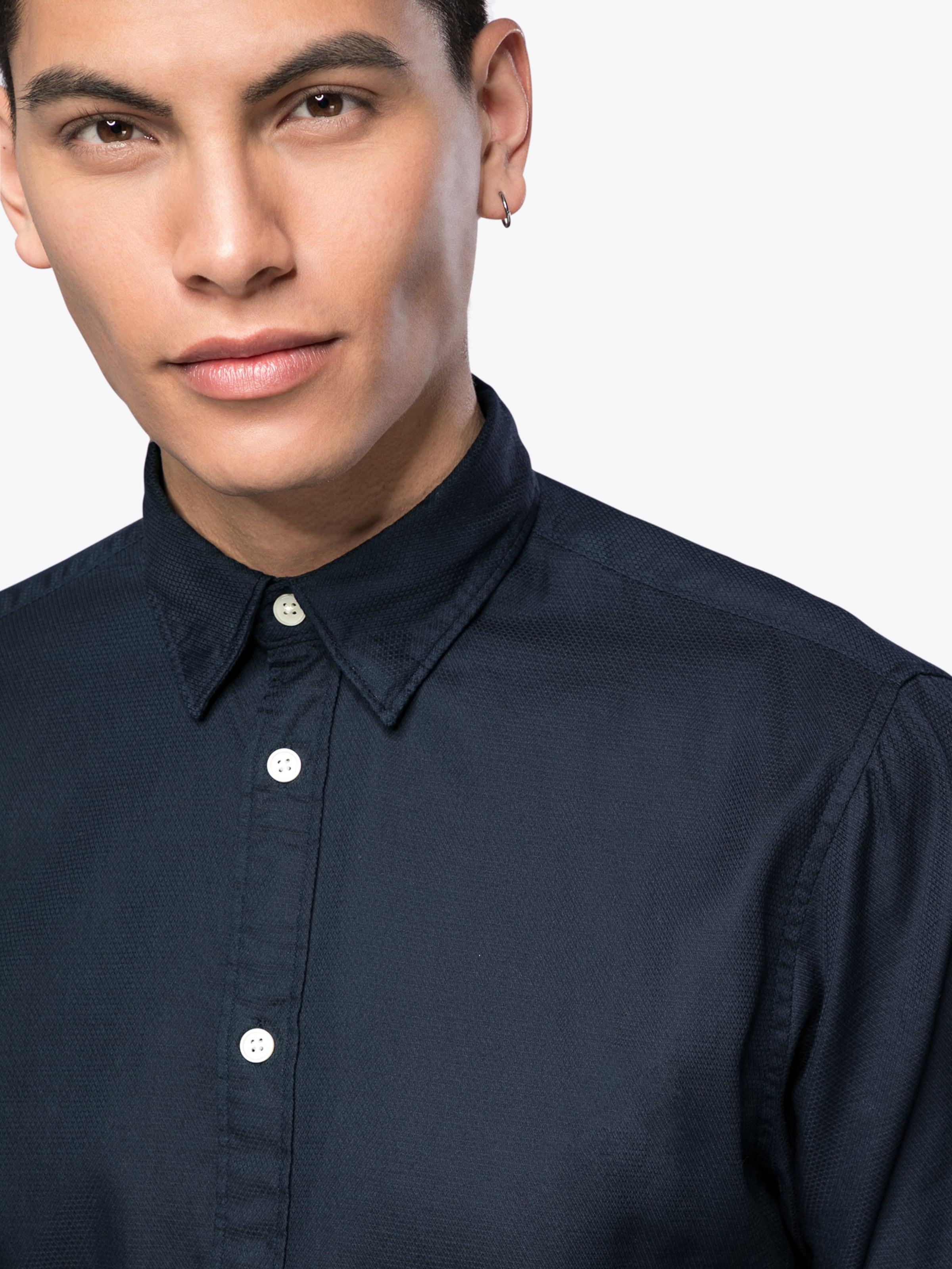 SELECTED HOMME Freizeithemd 'SHHONEFRANK SHIRT LS STRUCTURE' Online Schnell Express Rabatt Sast Billig Verkaufen Authentisch Neu Zu Verkaufen 052LiHvQZ