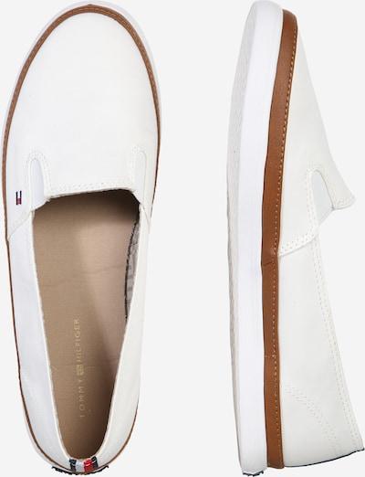 TOMMY HILFIGER Pantofle 'Kesha' w kolorze białym: Widok boczny
