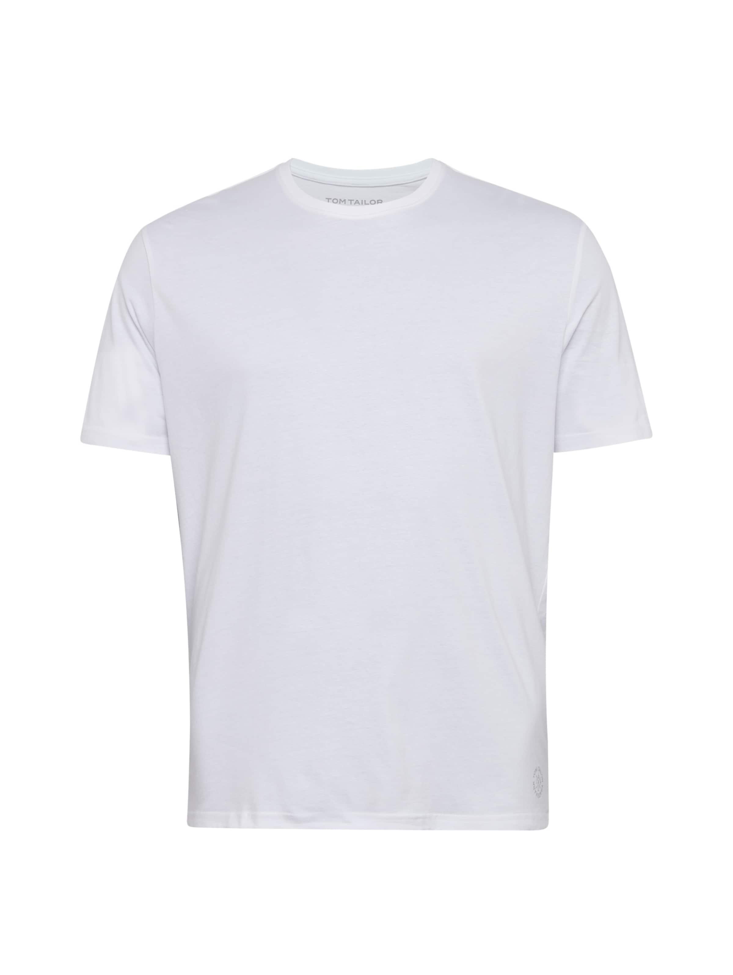 T Tom shirt Tailor Weiß In SzMpUVq