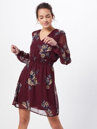 VERO MODA Kleid 'ALLIE' in weinrot, Modelansicht