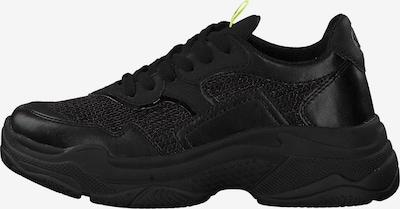 s.Oliver Sneakers laag in de kleur Zwart: Achteraanzicht