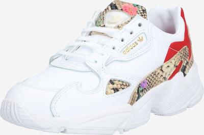 ADIDAS ORIGINALS Låg sneaker 'Falcon' i blandade färger / vit, Produktvy
