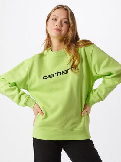 Carhartt WIP Sweatshirt in grün, Modelansicht