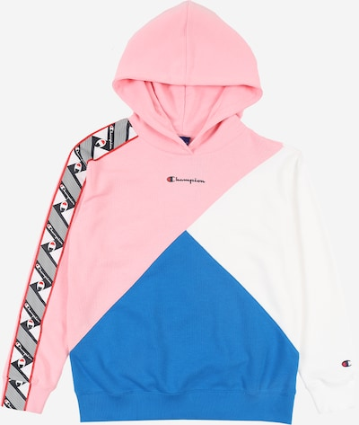 Champion Authentic Athletic Apparel Sweatshirt in himmelblau / rosa / weiß, Produktansicht