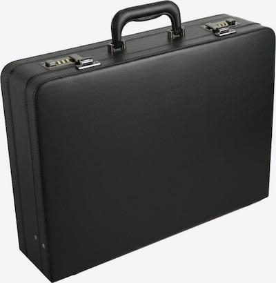 D&N Aktenkoffer in de kleur Zwart, Productweergave