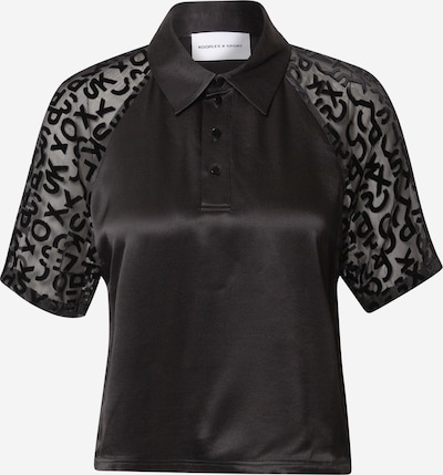 THE KOOPLES SPORT Shirts 'POLO' in schwarz, Produktansicht