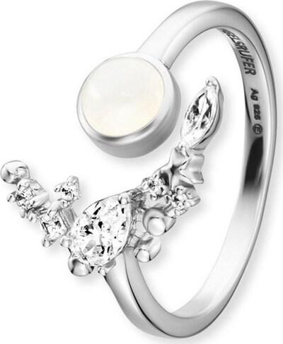 Engelsrufer Ring in silber, Produktansicht