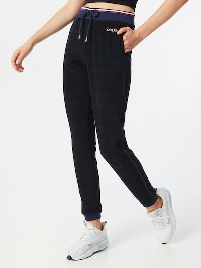 DIESEL Trousers in blue / black, View model