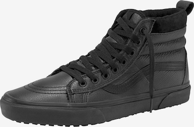 Sneaker înalt VANS pe negru, Vizualizare produs