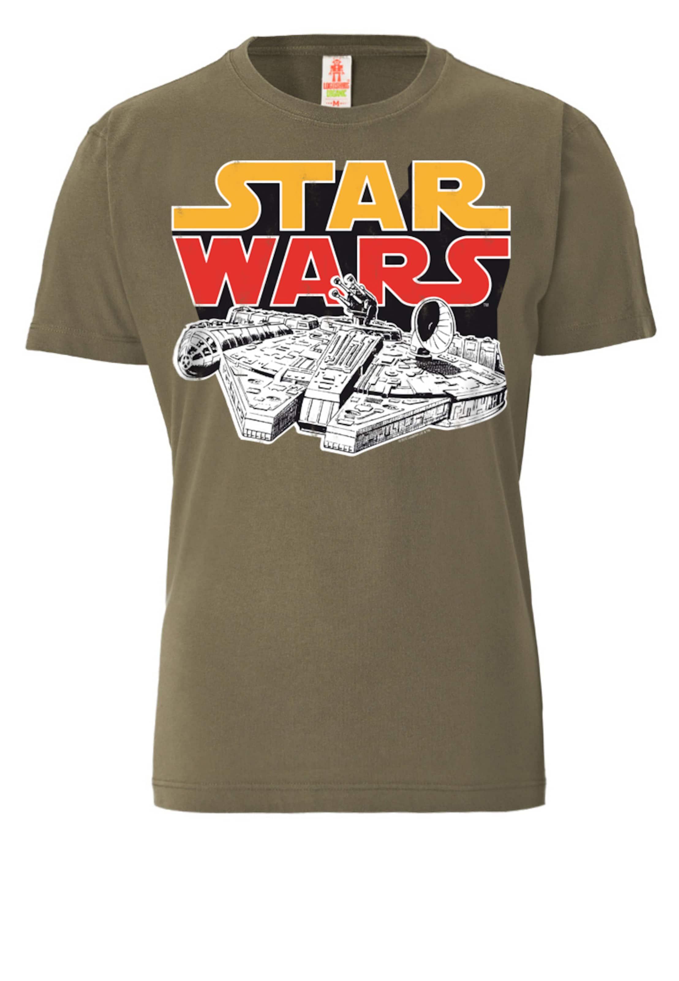 shirt 'millenium Logoshirt Weiß In Falcon' GelbOliv T Rot xoerBdCW
